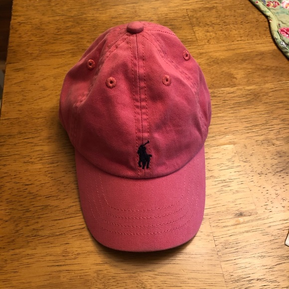 Pink Baby Polo Hat